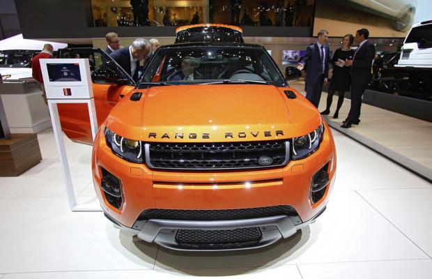 Genf 2014: Mehr Leistung und Luxus für den Range Rover Evoque
