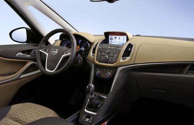 Opel Zafira Tourer bekommt Intelli-Link