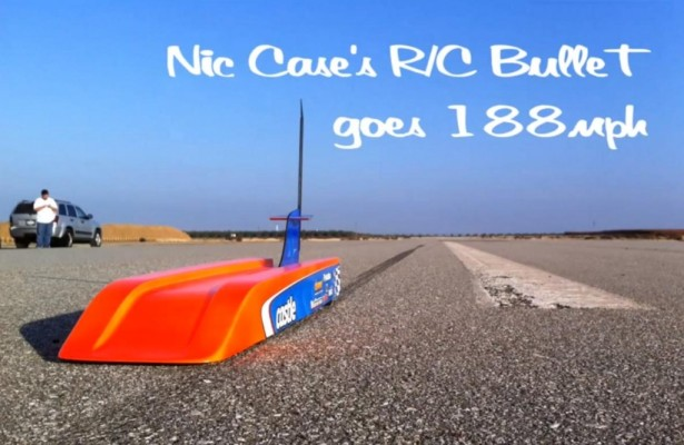 Schnellstes ferngesteuertes Auto der Welt - Bild: Youtube/Nic Case