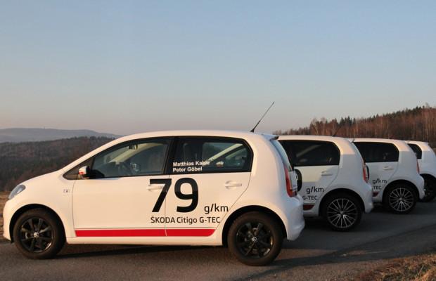 Skoda schickt vier Citigo G-Tec zur alternativen Monte