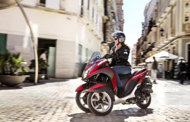 Yamaha: Mit einem Dreirad aus dem Stau