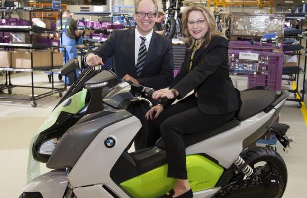 BMW startet Produktion des Elektrollers C Evolution