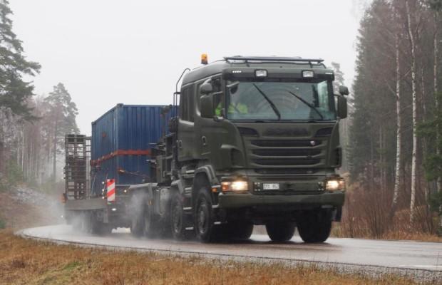 Scania: Schwertransport light