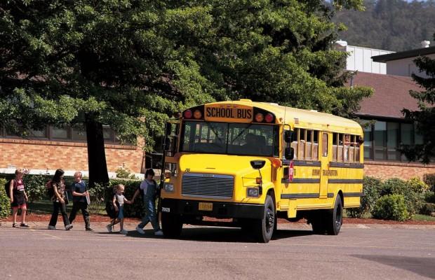 Schulbusse haben Terroristenschutz