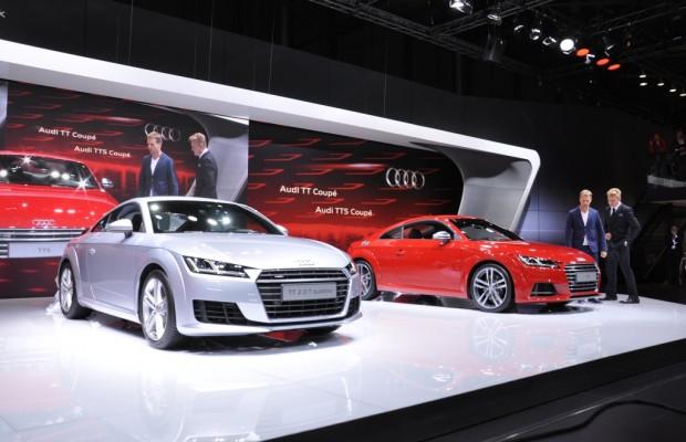 AMI 2014: Audi TT Coupé - Leckerbissen für Technik-Verliebte