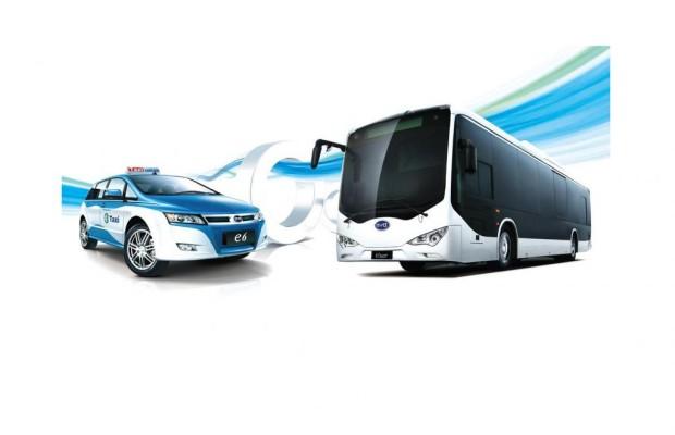 China: Rekordauftrag über 3 000 E-Busse und Taxen für BYD
