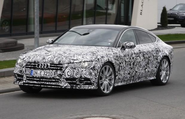 Erwischt: Erlkönig Audi S7 Facelift