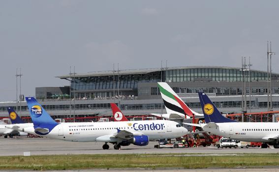 Knapp ein Prozent mehr Flugpassagiere