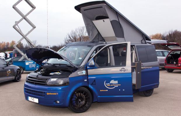 Das schnellste Doppelbett auf Rädern: VW Spacecamper TH5
