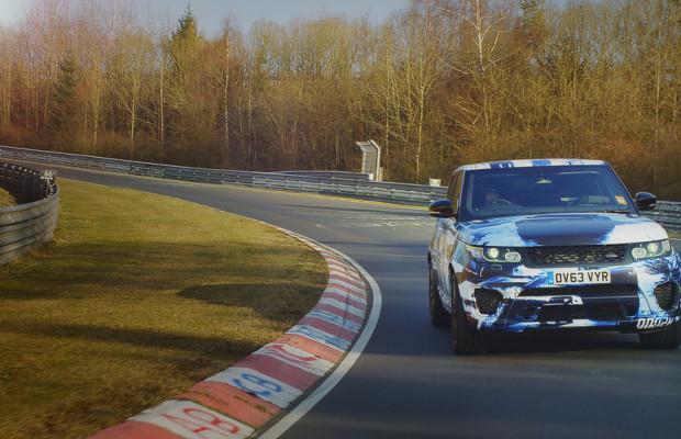 Goodwood mit erstem Blick auf Range Rover Sport SVR