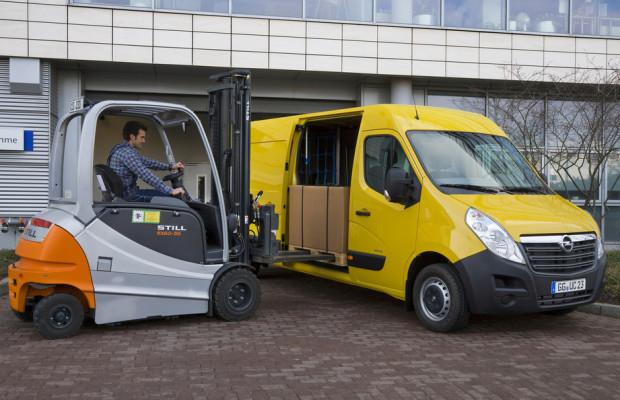 Opel Movano lädt ab 24 390 Euro ein