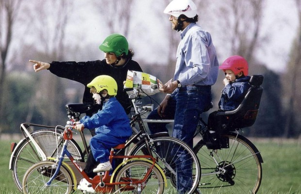 Radtour: Kinder nicht überfordern