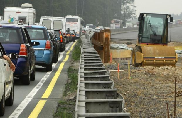 Baustellen auf der Autobahn - Staugarantie zur Ferienzeit