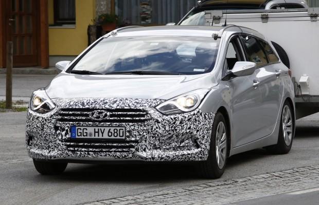 Erwischt: Erlkönig Hyundai i40 Facelift