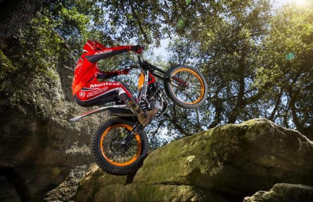 Honda Montesa Cota 4RT mit besserem Feeling beim Trial