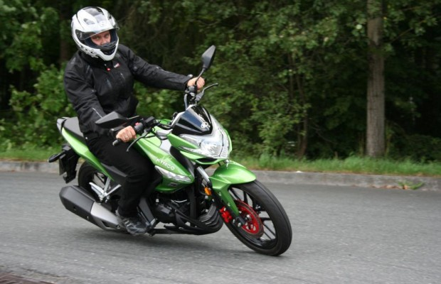 Kymco CK1: Einsteiger-Bike mit sportlicher Optik