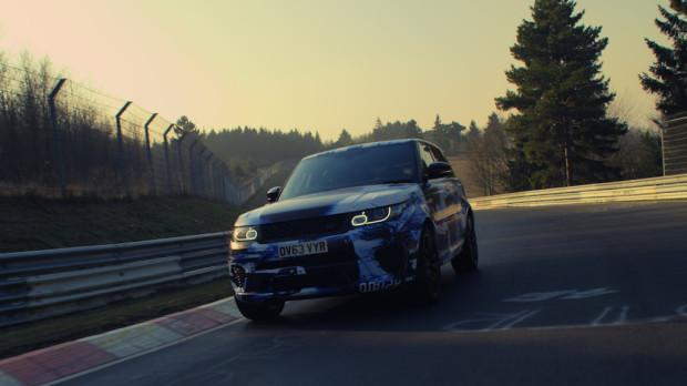 Range Rover holt Rundenrekord auf dem Nrburgring
