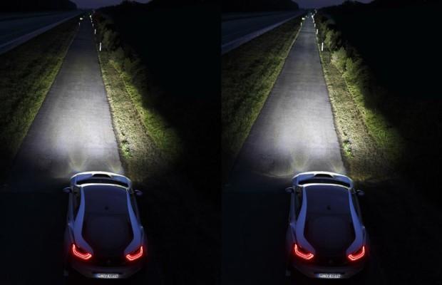 Sportwagen: Leuchtstarkes Laserlicht sichert Weitsicht