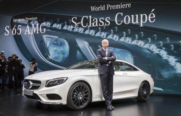 Zetsche sieht Daimler auf deutlichem Wachstumskurs