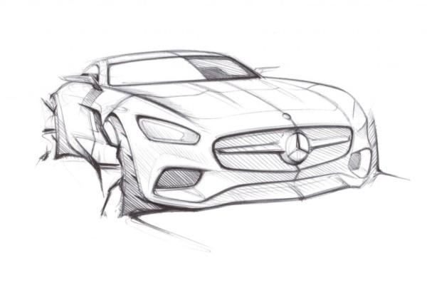Erster Blick auf den Supersportwagen Mercedes AMG GT - Kraftpaket mit fiesem Blick