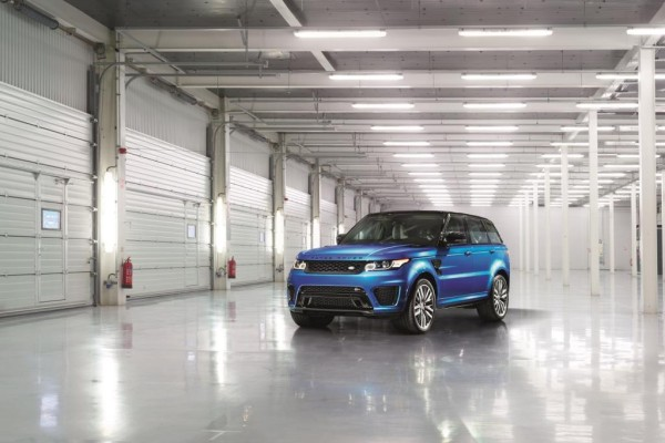 Range Rover Sport SVR - Auf dynamischen Pfaden