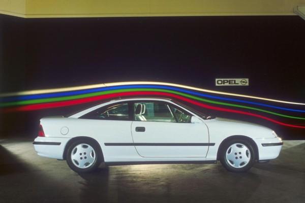 Tradition: 25 Jahre Opel Calibra  - Schnells schnellste Windbraut