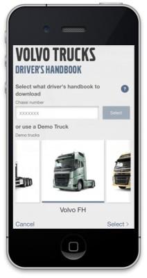 Volvo Trucks bringt Fahrerhandbuch-App