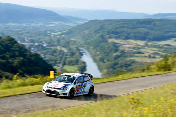 WRC-Lauf in Deutschland: Volle Attacke