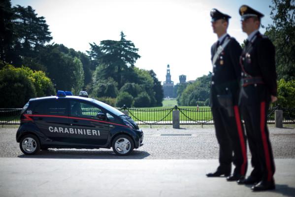 Carabinieri setzen Mitsubishi Electric Vehicle ein