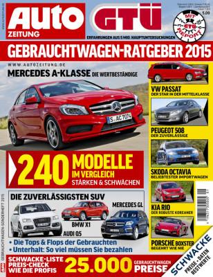 GTÜ-Gebrauchtwagenreport: Deutsche Marken auf den Top-Plätzen