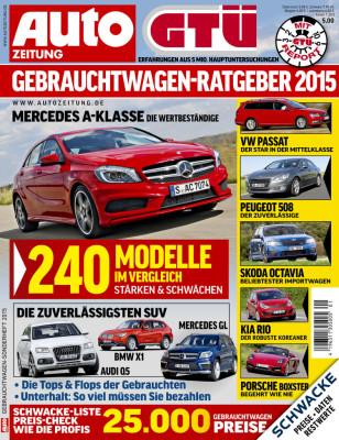 GTÜ-Gebrauchtwagenreport 2015.