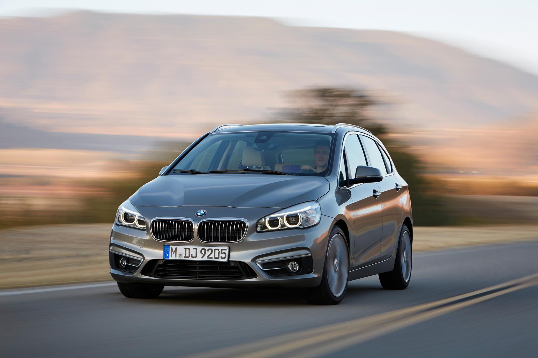 Der BMW 2er Active Tourer bekommt bald einen