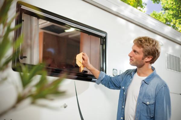 """""""Clean & Care"""" für Wohnwagen und Reisemobile"""