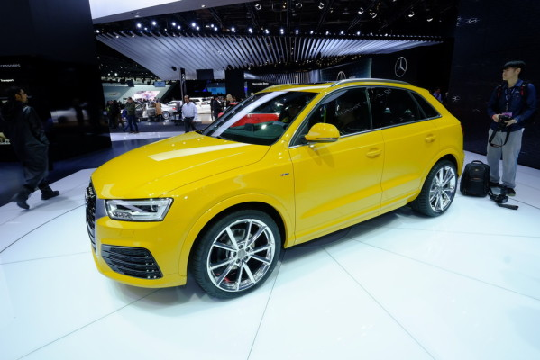 Detroit 2015: Audi macht den Q3 fit