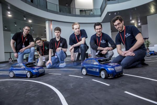 Das beste autonom fahrende Modellauto kommt aus München
