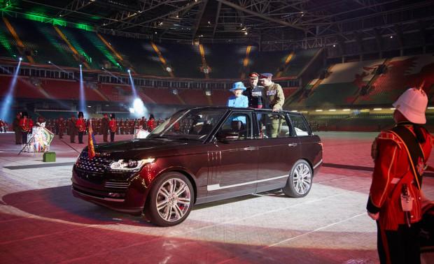 Neuer Land-Rover-Paradewagen für die Queen
