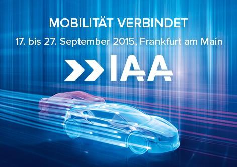 IAA 2015: Die neue Mobilitätswelt