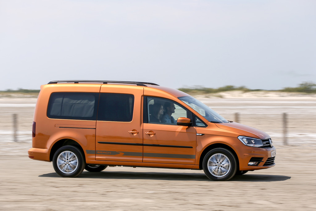 Volk Wagon Volkswagen Caddy Maxi Beach
