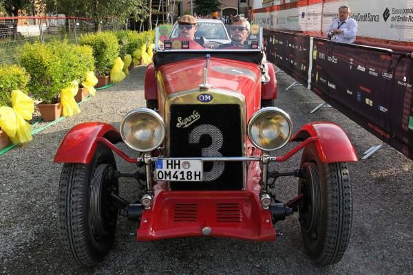 Siegerwagen der ersten Mille Miglia OM 665 Superba