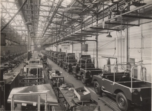 Land Rover Defender: Produktion in Solihull