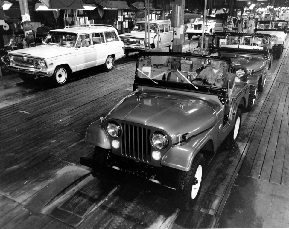 Jeep-Fertigung 1964