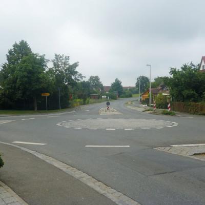 Nicht einfach drüber: Auch bei Kreisverkehren, die