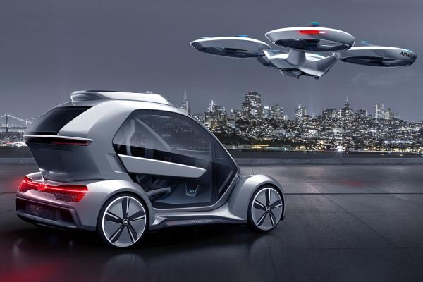 Auto oder Drohne: Wer macht bei der Mobilität von morgen das Rennen?