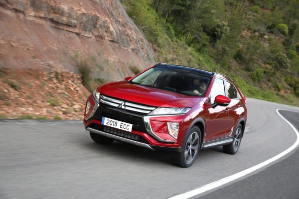 Das SUV-Crossover Eclipse Cross setzt bei Mitsubishi optisch neue Akzente.