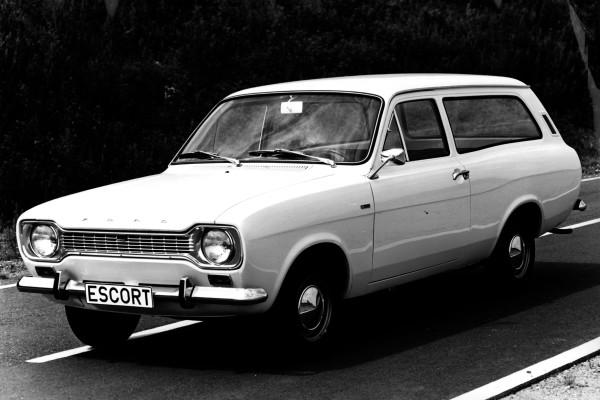 Ein Ford Escort Turnier der ersten Generation, ebenfalls aus dem Premierenjahr 1968.