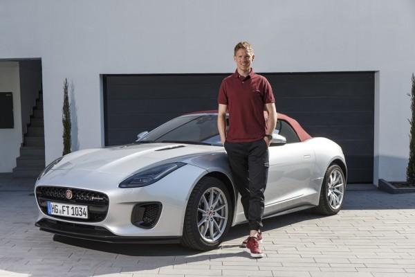 Julian Nagelsmann und sein Jaguar F-Type.
