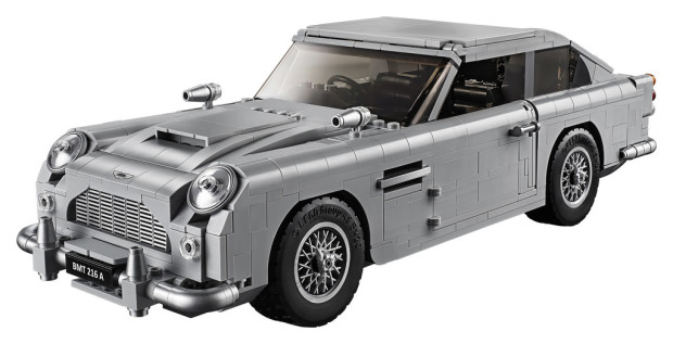 Aston Martin DB 5 von Lego aus dem James-Bond-Film