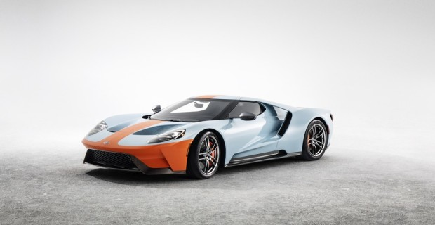 Ford GT Heritage Edition.