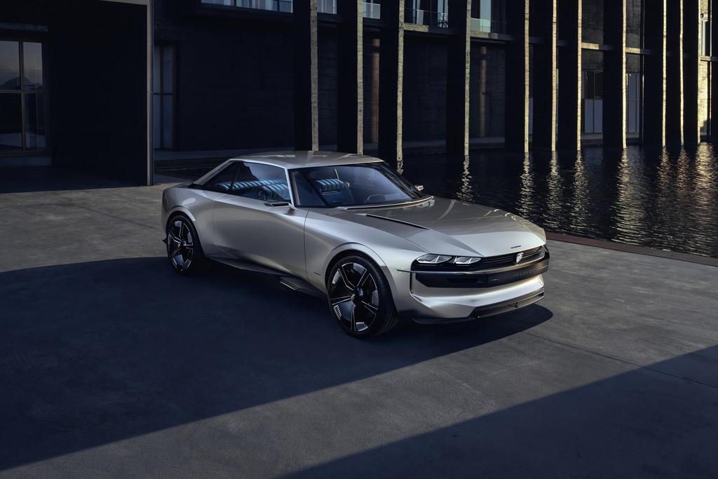 Peugeot e-Legend Concept.