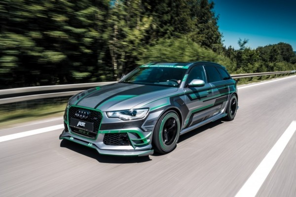 Abt Audi RS 6-E Concept.